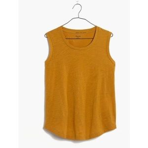 Madewell Whisper Cotton Muscle Tank Top Small